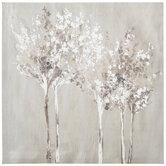Dusky Trees Canvas Wall Decor