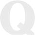 White Wood Letter Q - 3