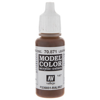 70.871 Leather Brown Acrylic Model