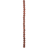 Brown Goldstone Round Bead Strand