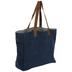 Blue Denim Juco Tote Bag