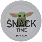Baby Yoda Snack Time Plate