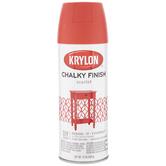 Scarlet Krylon Chalky Finish Spray Paint