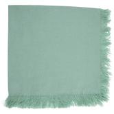 Green Fringe Cloth Napkin