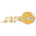 Golden Wheat Wired Edge Ribbon - 1 1/2