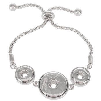 Snap Chain Slider Bracelet