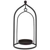 Brown Arch Metal Candle Holder