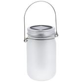 Light Up Frosted Mason Jar Lantern