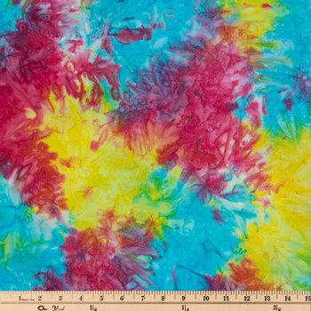 Rainbow Batik Cotton Fabric