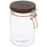 Thankful Glass Canister
