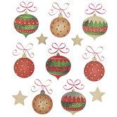 Ornament & Star Foil Stickers