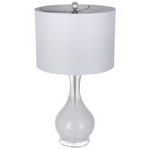 White Glass Lamp