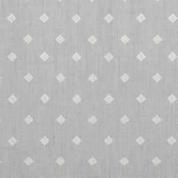 Gray Derry Stone Diamond Fabric