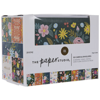 Be Happy Floral Box Of Cards