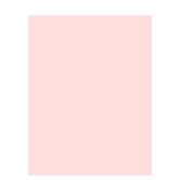 """Baby Pink Smooth Cardstock Paper - 8 1/2"""" x 11"""""""