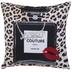 Perfume Bottle & Leopard Print Pillow