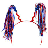 Patriotic Tinsel Headband