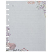 Floral Notes Happy Planner Paper