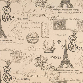 Steel Drake French Stamp Duck Cloth Fabric