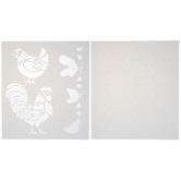 Chicken Coop Stencils