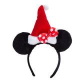 Santa Hat Minnie Ear Headband