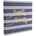 Twenty Twenty Striped Post Bound Scrapbook Album - 12