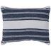 Blue & White Striped Pillow