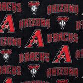 MLB Arizona Diamondbacks Fleece Fabric