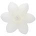 White Hibiscus Floating Candle
