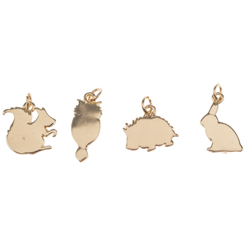 Forest Animal Silhouette Charms