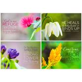 Floral Sympathy Cards & Envelopes