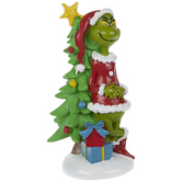 The Grinch With Tree