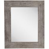 Rustic Barnwood Wall Mirror