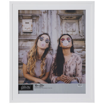 White Lipped Wall Frame