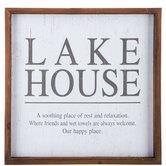 Lake House Wood Wall Decor
