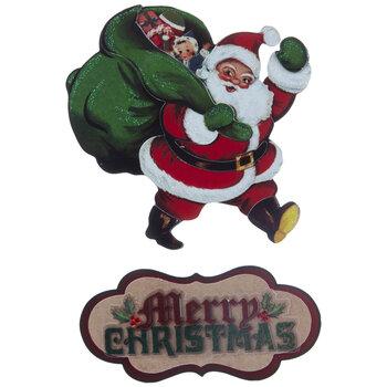Santa Full Body 3D Stickers