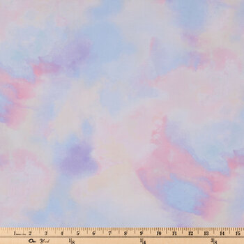 Pastel Tie-Dye Apparel Fabric