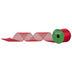 Red Cut Edge Sheer Ribbon - 2 1/2
