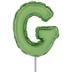 Letter Balloon Garden Pick - G