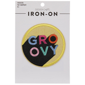 Groovy Iron-On Applique