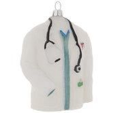 Doctor White Coat Ornament