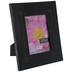 Black Floral Wood Frame - 5