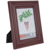 """Red Distressed Wood Frame - 5"""" x 7"""""""