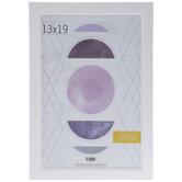 "White Angled Wall Frame - 13"" x 19"""