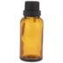 Amber Glass Dropper Bottles - 30mL