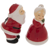 Santa & Mrs. Claus Salt & Pepper Shakers