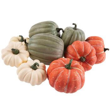 Bright Foam Pumpkins & Gourds