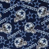 NFL Dallas Cowboys Fleece Fabric