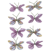 Spring Butterfly 3D Stickers