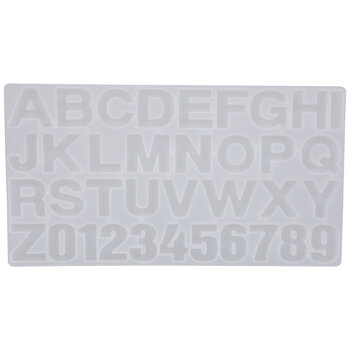 Letters & Numbers Resin Mold